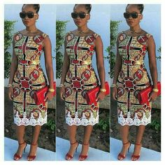 Hey Lovely ladies, Its late Friday but we've decided to share some lovely and unique ankara styles with you because why not. As an African women or lady African Print Dresses, African Dresses For Women, African Attire, African Wear, African Women, African Prints, African Style, African Inspired Fashion, African Print Fashion