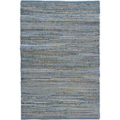 @Overstock.com - Hand Woven Blue Jeans Rug (8 x 10) - Add a unique touch to your home decor with this hand crafted blue jeans rug. This rug is constructed of recycled denim and natural hemp, is completely reversible and extremely durable and is finished with blue cotton edging.  http://www.overstock.com/Home-Garden/Hand-Woven-Blue-Jeans-Rug-8-x-10/6682291/product.html?CID=214117 $170.99