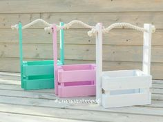Trendy Basket Diy Stick Ideas – Famous Last Words Popsicle Stick Crafts, Craft Stick Crafts, Craft Box, Home Crafts, Diy And Crafts, Diys, Barbie Coloring Pages, Wood Creations, Easter Crafts For Kids
