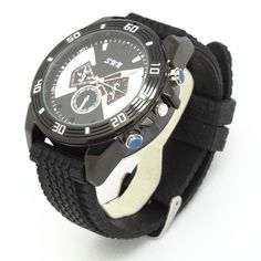 HD Automatic IR Night Vision Watch Camera DVR with Battery and TF card slot - Those Cheating Bastards Spy Watch, Smart Watch, Spy Gadgets, Automatic Watch, Night Vision, Digital Camera, Watches, Cheating, Slot