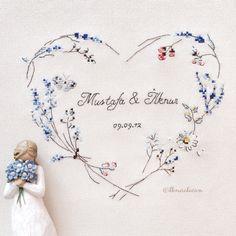 Helene le berre / le langage des fleurs  #Crossstitch #embroidery #handmadegifts…