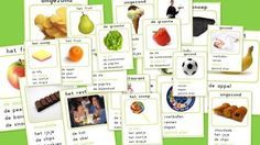 Kwartet gezondheid (voeding/beweging/eten/gezond) Projects To Try, Healthy Recipes, Fruit, School, Kids, Online Shipping, Sport, Dutch, Education
