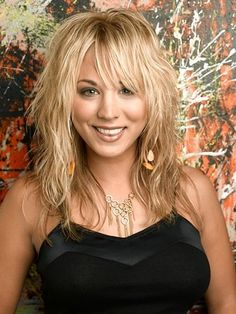 Kaley Cuoco - big bang theory...love the hair