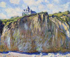 The Church at Varengeville, 1882 Claude Monet