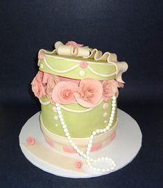 Box of Roses Cake