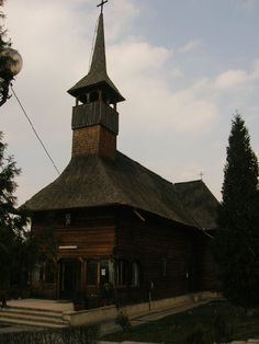 The wooden church of Targu Mures, Romania