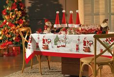 Toalha de mesa Melodia de Natal