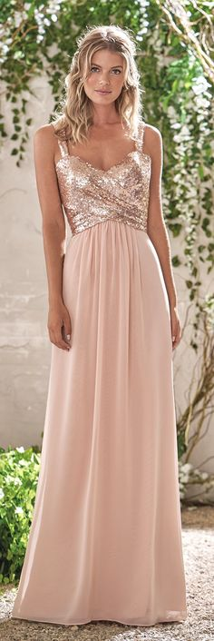 Women's Sequined Sweetheart Backless Long Prom Bridesmaid Dress