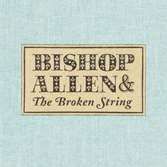 """Bishop Allen - """"Click, Click, Click, Click"""". Just a perfect rock song, all around. One of my absolute favorites."""
