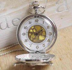 04aa3a8ee17 relógio de bolso - com estampa de piratas -