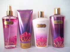 Victoria Secret Pink Panties Used | Victoria's Secret Forever Pink Mist Body Lotion Hand Body Cream Wash ...