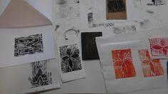 Print making fun with Jade Blood! 20/09/14