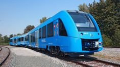 A fleet of the world's first zero-emissions passenger trains are set to go into service in Germany: the hydrogen-powered Coradia iLint. Locomotive, Trains, Diesel, Hydrogen Fuel, Lower Saxony, Chemical Industry, Filling Station, Interior Photo, France