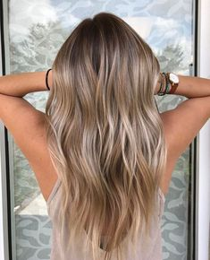 Balayage for blond, dark brown, brown and light brown hair. Balayage for blond, dark brown, brown and light brown hair. Hair Color 2018, Ombre Hair Color, Hair Color Balayage, Blonde Color, Blonde Brunette, Hair Colour, Ashy Brown Hair Balayage, Golden Blonde, Hair 2018