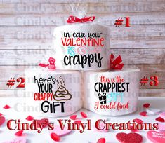 Hilarious Toilet Paper Gifts by CindysVinylCreations on Etsy