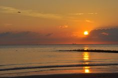 texel strand beach sunset paal 9