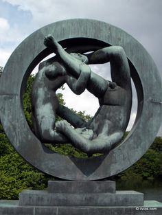 Men and women are different species. - Vigeland Park, Oslo, Norway