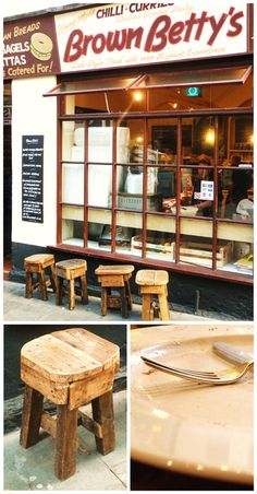 Brown Betty's café, Nottingham. I know exactly where this is!!!!!!