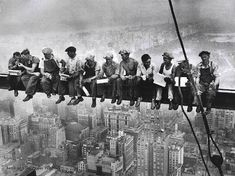 One of the most famous construction photos of all time.