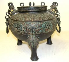 ANTIQUE CHINESE TEMPLE INCENSE BURNERS | View Catalog