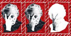 Nicanor Parra, pela poética do antipoético. Texto: Cesar Cuadra Bastidas (Tradução de Alejandra Rojas C.). Ilustração: Janio Santos. Suplemento Pernambuco, edição 109, março de 2015.