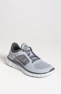 Gray Free Run 3 Running Shoe
