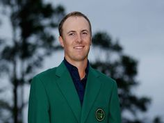 Jordan Spieth wears his green jacket after winning the Masters golf . Jordan Spieth, Masters Green Jacket, Masters Golf, Long Drive, Golf Tips, Weekend Is Over, Champs, Under Armour