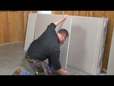 Four simple DIY projects to help organize your garage. None of these DIY projects take more than four hours to complete. Complete instructions and photos for how to build suspended shelves, a bike lift, a ladder rack and a wheelbarrow holder.