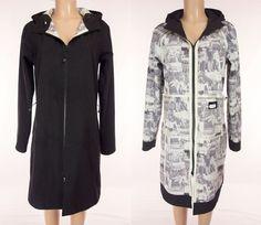 LULULEMON Apres Jacket Size 10 M Medium Rare Signature Embossed Hooded Coat #Lululemon #CoatsJackets