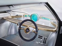 Celebrating BMW's 100 year anniversary, Mini has unveiled their vision of the future mobility with the Mini Vision Next 100 concept. Car Interior Design, Automotive Design, Interior Sketch, Interior Concept, Exterior Design, Mini Superleggera, Mobiles, Bmw 100, Automobile