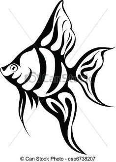 Angel Fish Drawing In Pencil By Lucy Beevor CaughtByTheLight