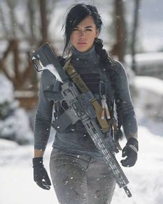 Female Soldier -