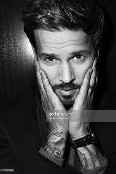 Photo d'actualité : French singer and song writer Matt Pokora is...