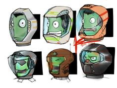 Kerbal helmets - Imgur I wish this was actually in the game, err But it would be a bit akward with only a black helmet not the rest :/ It would just look wierd.