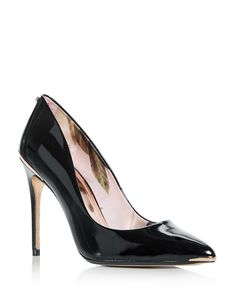 9853416675575f TED BAKER Ted Baker Women s Kaawa Patent Leather Pointed Toe Pumps.   tedbaker  shoes