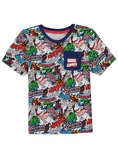 Marvel Avengers Pyjama Set, read reviews and buy online at George at ASDA. Shop from our latest range in Kids. Avengers Assemble! The Marvel team – including...