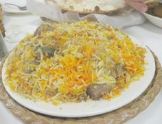 Nawabi Biryani recipe. Biryani is a rice-based foods made with spices, rice (usually basmati) and meat (often chicken). Posted by Nazia Nazar.