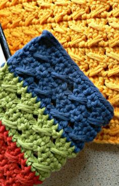 Crochet Patterns on the Block: 18 Color Block Patterns