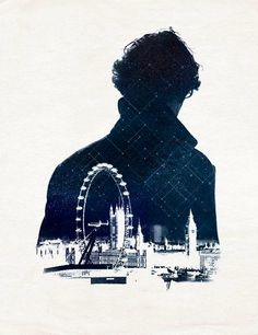 Beautiful Sherlock Silhouette