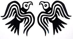 Odin's Ravens Pair Silhouette Car Truck Window Vinyl Decal Sticker 10 Colors #TheStickerEmporium