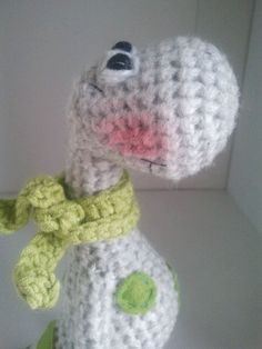 ༺༺༺♥Elles♥Heart♥Loves♥༺༺༺ ........♥Crochet Amigurumi♥........ #Amigurumi #Patterns #Crochet #Softies #Childrens #Toys #Handmade #Teddy #Doll #Tutorial #Patterns #Collectable~ ♥Amigurumi Patterns By Teddies With Love Crochet Dinosaur