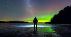 Auroras boreales desde Finlandia | El Universo Hoy