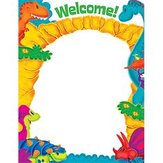 Welcome Dino-Mite Pals™ Learning Chart | TRENDenterprises.com