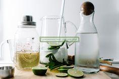 Lemongrass Mint Lime Spritzer Recipe