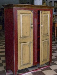 Country Jelly Cupboards | With Old World Finish $663.00