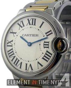 Cartier Ballon Bleu Collection Mid-Size 36mm Steel & Gold Automatic Reference #: W6920047