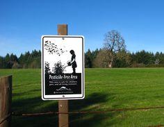 Pesticide Free Area!