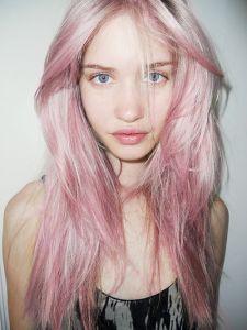 Pink Soft Pastel Hair