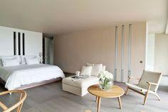 chambre coucher moderne esthetique