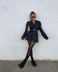 Winter Fashion Outfits, Look Fashion, Fall Outfits, Autumn Fashion, Womens Fashion, Looks Street Style, Looks Style, Blazer Outfits, Blazer Dress